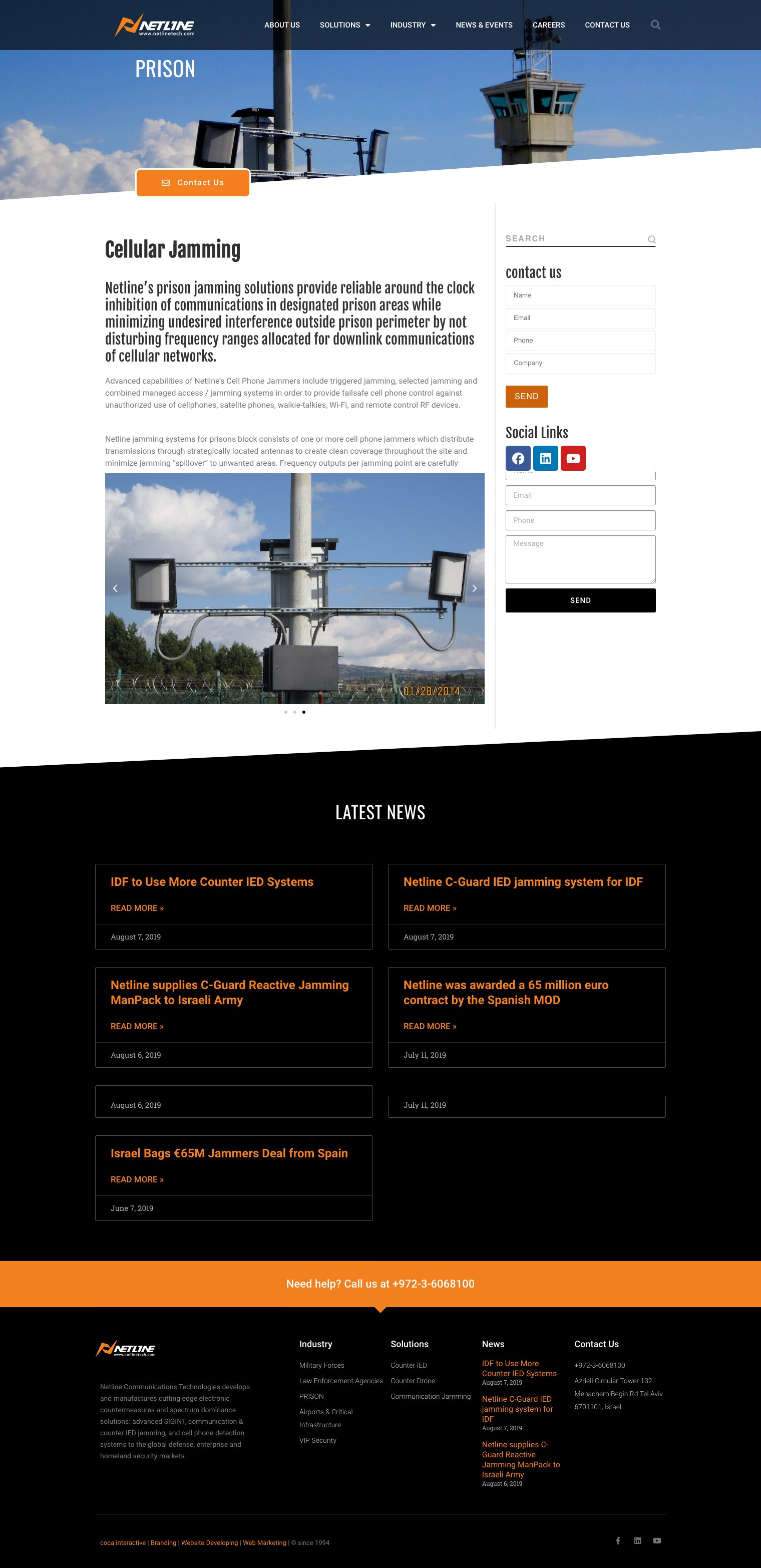 בניית אתר נטליין